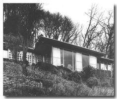 La maison que s'est construit Jean Prouvé, en 1954, sur les hauteurs de Nancy.