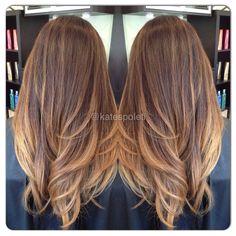 Subtle ombré, blonde ombré, perfect ombré, Austin hair salon, Kate Spoleti