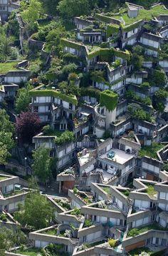 Classic Material: Architecture! Jean Renaudie's housing complex in Ivry sur Seine.