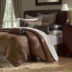Hampton Hill Drummond Comforter Set     All Bedding Sets   Bedding Sets    Bed U0026 Bath