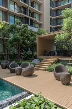 The Parque Condominium Courtyard by Tectonix Landscape on Behance