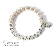 Brautjungfer Armband Für Beste Freundin Hochzeitschmuck Schmuck Handarbeit Brautschmuck