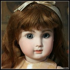 """19"""" French Bisque Bebe Steiner Figure A from signaturedolls on Ruby Lane"""