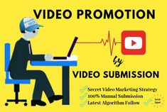 I will do top 100 video submission on most visited and high ranking video sharing sites to boost your ranking in Google. #Videosubmission #videopromotion #videomarketing #videoseo #seo #youtubevideo #youtubevideopromotion #youtubemarketing #youtubeseo #videoshare #marketing #videodistribution Best Seo Services, Website Ranking, Do Video, Most Visited, Submission, Promotion, The 100, Social Media, Marketing