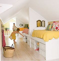 Kids Rooms: Shared Bedroom Solutions – Decorating Your Small Space