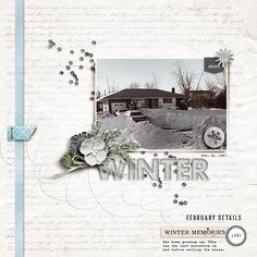 Winter Home digital