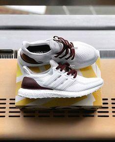 timeless design 7e859 c581e Adidas Ultraboost White Sneakers, Adidas Sneakers, Adidas Nmd, Shoes  Sneakers, Sneakers Fashion