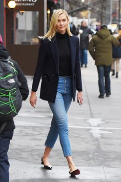 9a731345ed 38 Amazing Casual Ways to Wear Jeans In Office While business casual is  subjective based on various facets