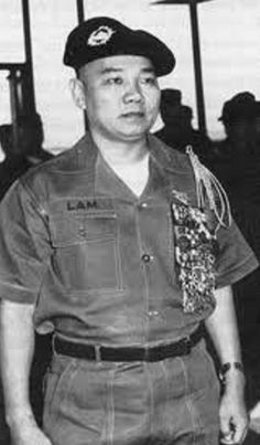 Anti-Communist forces - Hoàng Xuân Lãm (born 1928) was a general in the Army of the Republic of Vietnam (ARVN). Given responsibility for the I Corps Tactical Zone in 1967, Lãm coordinated the South Vietnamese offensive known as Operation Lam Sơn 719 which aimed at striking the North Vietnamese logistical corridor known as the Hồ Chí Minh Trail in southeastern Laos during 1971.