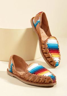#AdoreWe #ModCloth ModCloth Pass With Styling Colors Leather Loafer - AdoreWe.com