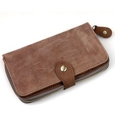 Handmade Genuine Leather Wallet / iPhone 4 4s iPhone 5 Wallet on Etsy, $30.00