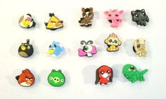 Funny Animals Pets Shoe Charms 8 pc Set and Angry Birds 6 pc - Jibbitz Croc Style by Hermes. $12.99. Get your charm set now. Show your favorite characters on your croc style shoes.  Collect them all, Mix 'n Match, trade your friends.