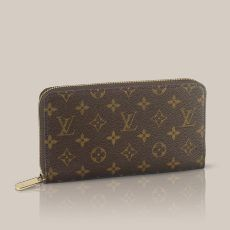 Louis Vuitton Zippy Organizer- monogram canvas leather