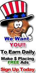 We Want YOU to Earn Cash Daily for Placing Free Ads!  Click Here to Find Out How! #zeekrewards #workfromhome #pennyauction #chrisfarcher