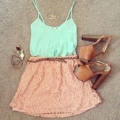 Crop Top Outfits Tumblr | skirt rose tank top crop tops tumblr outfit girly outfits tumblr ...
