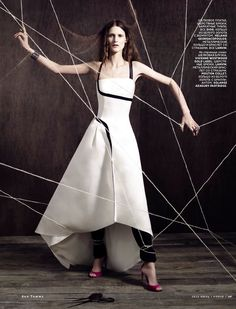 Surreal Chic| Marie Piovesan by Ben Toms for Vogue Russia June 2013!