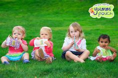 Yummi Pouch reusable food pouches encourage healthy snacks for active kids. www.yummipouch.com