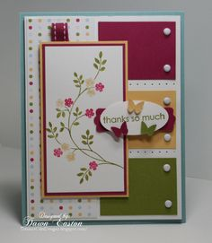 Thanks So Much by TreasureOiler - Cards and Paper Crafts at Splitcoaststampers