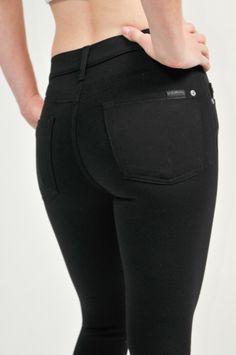 The Skinny Knit Black www.shopmapel.com