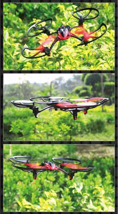 LISHI TOYS L6052 2.4GHz 4CH 6-axis RC Quadcopter Gyroscope…