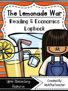 This lapbook is meant to be used with the novel The Lemonade War by Jacqueline Davies. The lapbook includes ten different activities that relate to both reading and social studies. Handouts can be used for whole class or independent work. All handouts are full sized but they can be copied two to a page for gluing into Reader's Notebooks.Topics Covered:- What is Realistic Fiction?