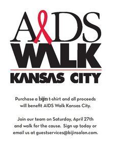 AIDS WALK Kansas City.  4.27.13
