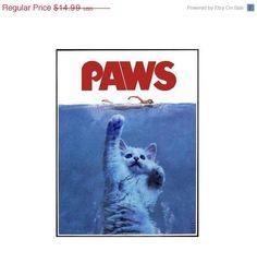 Jaws Paws Parody T-Shirt