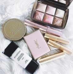 Smashbox, YSL and Too Faced | Pinterest @tessahouse96