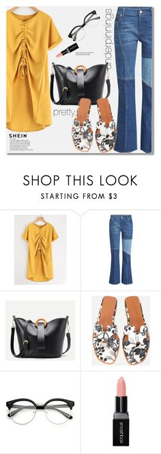 """""""The Prettiest Underpinnings"""" by svijetlana ❤ liked on Polyvore featuring Alexander McQueen, Smashbox, shein and prettyunderpinnings"""