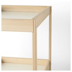 IKEA - SNIGLAR Changing table beech, white