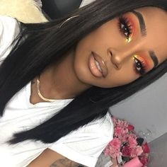 black girl makeup looks / black girl makeup ; black girl makeup looks ; black girl makeup tutorial step by step ; Glam Makeup, Casual Makeup, Makeup On Fleek, Flawless Makeup, Cute Makeup, Gorgeous Makeup, Hair Makeup, Makeup Geek, Witch Makeup