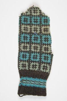 Old mitten pattern from Koeru district, Central Estonia