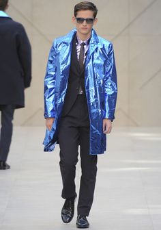 Burberry Metallic Coat