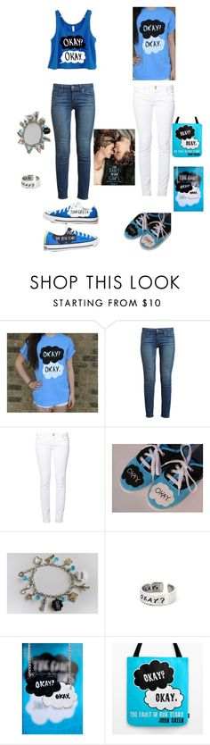 The Fault In Our Stars Movie w/ Elizabeth by samariavalerie on Polyvore featuring Paige Denim, even&odd, Converse, women's clothing, women's fashion, women, female, woman, misses and juniors