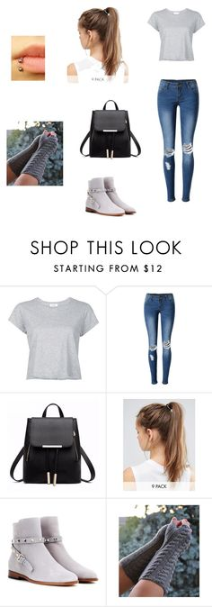 """""""Untitled #276"""" by mikeymylove ❤ liked on Polyvore featuring RE/DONE, WithChic, NIKE and Valentino"""
