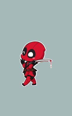 Deadpool funny, marvel actors, hero arts, marvel universe, s Cute Deadpool, Deadpool Chibi, Chibi Marvel, Deadpool Art, Marvel Avengers, Marvel Comics Superheroes, Marvel Art, Marvel Characters, Marvel Heroes
