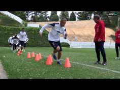 Equipe de France : exercices de vivacité - YouTube