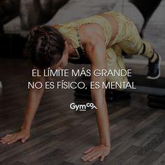 ¡El límite más grande no es físico, es mental!    #gymco #gymcosportwear #gym #limites #fisico #tips #frases #frasesdemotivacion #frasespositivas #frasesdeejercicio