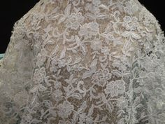 Lace Fabric Ivory Bridal Beaded Guipure Lace by Threads2Trends