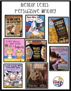 Kids are natural born persuaders. They do it all the time. The trick as a teacher, is to take their set of cajoling skills, and help them use their power for good. And by good, I mean to channel these skills into writing effective persuasive pieces. So, what exactly do...