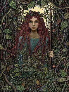 A artista e ilustradora polonesa Magdalena, mais conhecida pelo pseudônimo de Bubug, cria uma atmosfera gótica em cores vivas, repleta de detalhes em suas ilustrações. Com influências que vem princ…                                                                                                                                                                                 Mais