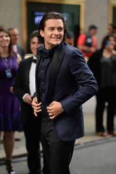 Orlando Bloom Photos - Actor Orlando Bloom attends the 68th Annual Tony Awards at Radio City Music Hall on June 8, 2014 in New York City. - 2014 Tony Awards - Arrivals