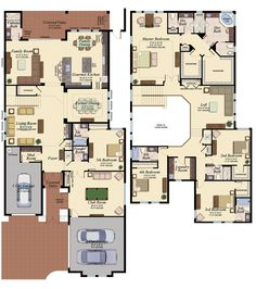 SANIBEL/555 Floor Plan