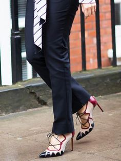 The Key to Keeping Your Ankles Strong in Heels via @WhoWhatWear