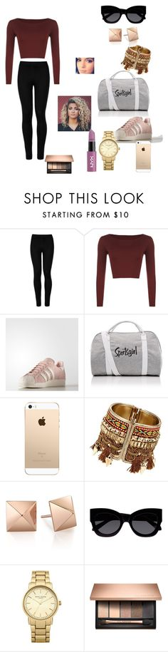 """""""cool"""" by paloma13005 ❤ liked on Polyvore featuring Wolford, WearAll, adidas, Karen Walker and Topshop"""
