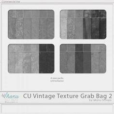 CU Vintage Texture Grab Bag 2 by Manu Scraps - Thanksgiving Weekend 2017 Special