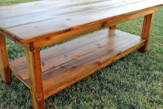 Farmhouse Coffee Table - link not working for me