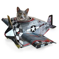 Look what I found at UncommonGoods: airplane cat house... for $245 #uncommongoods
