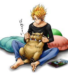 Tags: Anime, Pillow, Eyeshield Hiruma Yoichi, Cerberus (Eyeshield Pixiv Id 664613 Manga Anime, Anime Art, Anime Demon, Japanese Animated Movies, Different Races, Cerberus, Anime Style, Me Me Me Anime, 21st