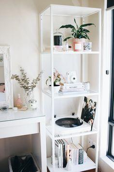 Home Interior Salas .Home Interior Salas Study Room Decor, Cute Room Decor, Room Ideas Bedroom, Diy Bedroom Decor, Home Decor, Bedroom Inspo, Decorating Bedrooms, Bedroom Designs, Hipster Room Decor